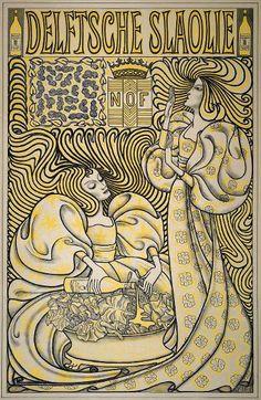 Jan Toorop - Delftsche Slaolie (1893)