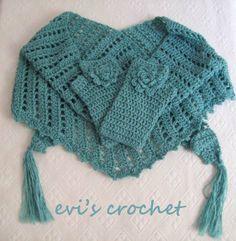 Crochet Scarves Gloves