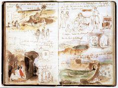 Delacroix, Eugene moleskine art journal