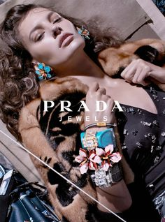 Prada Resort 2014 Campaign by Steven Meisel. Click through for more images.
