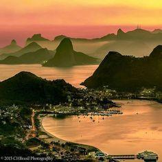 Você sabia, #carioca?  O #Rio tem um dos Pores do Sol mais instagrammados do mundo! Numa pesquisa feita pelo site #Modernize, o #RiodeJaneiro ocupa o 9° lugar, sendo a única cidade da América Latina no Top 20! Pra ilustrar e honrar esse nono lugar mundial, o click perfeito do @chbrasil, direto do #ParquedaCidade!