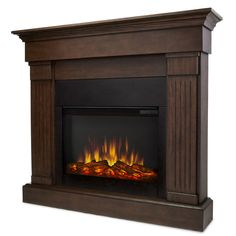 Real Flame Slim Crawford Electric Fireplace & Reviews
