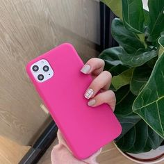 DCHZIUAN Pitaya pink liquid silicone Case For iPhone 11 pro XS Max X X – Touchy Style