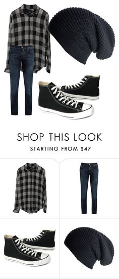"""Male Grunge"" by kawaiistylist ❤ liked on Polyvore featuring Jacob CohÃ«n, Converse, Black, men's fashion and menswear"