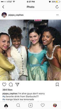 pippa is so beautiful i can't Cast Of Hamilton, Hamilton Musical, Theatre Geek, Musical Theatre, Theater, Hamilton Playbill, Philippa Soo, Casting Pics, And Peggy