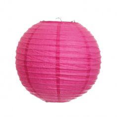 Round Paper Lanterns - Fuchsia   #round #paper #lantern #lighting #outdoor #decor
