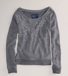Loving the cute sweatshirts from AE! Comfort must come #1