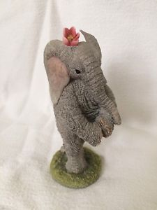 """Tuskers By Country Artists 1999 """"Fay"""" Collectible Ornament Figurine Country Artists, Dinosaur Stuffed Animal, Teddy Bear, Ornaments, Toys, Animals, Ebay, Collection, Decor"""