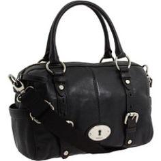 Fossil - Maddox Satchel Handbag (Black) - Bags and Luggage, $198.00 | www.findbuy.co