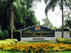 Marigolds and other pretty orange and yellow flowers @ProvidenceLakes Tampa