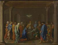 Seven Sacraments - Marriage I (c1637-1640) Nicolas Poussin.