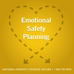 Emotional Safety Planning #blog #safety #support