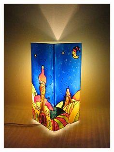 Meselámpa – gyereklámpa, éjszakai fény, éjjeli fény | Hold Anyó meselámpa