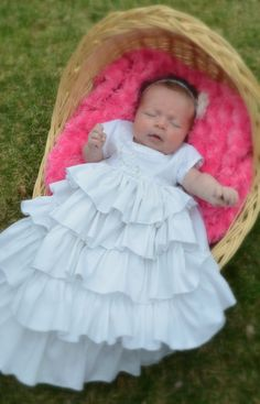 Baby Girl Blessing Christening Dedication by CheeryGrooveCrafts, $175.00