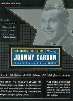 "Johnny Carson Ultimate Collection & Animal Hijinks Vol. 1 (DVD 4-Disc Set) ""NEW""  | eBay"