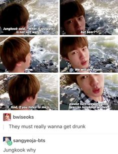 what :').... Alcohol has been mentioned so many times on this trip I'm concerned