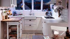Kjøkken som er praktisk