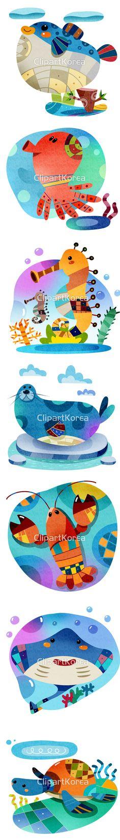 귀여운 바다 친구들 모음 :) What a cute Shellfish :) #클립아트코리아 #이미지투데이 #통로이미지 #psd #포토샵 #귀여움 #동물 #무늬 #문어 #해마 #복어 #가오리 #거북이 #가재 #물범 #어패류 #일러스트 #캐릭터 #패턴 #페인터 #cute #animal #pattern #octopus #puffer #fish #stingray #turtle #hippocampus #lobster #fishery #seal #character #pattern #illustration #Painter #clipartkorea #imagetoday #tongroimages