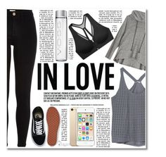 Gym style by hafsahshead on Polyvore featuring Zara, LnA, River Island, Victoria's Secret, Vans and mark.