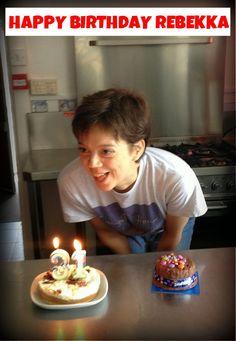 Happy Birthday Rebekka!