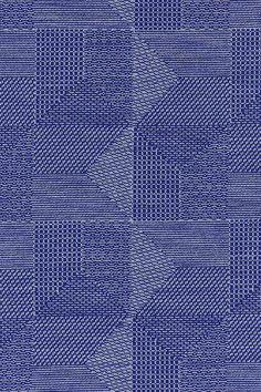 Close up of Akira Minagawa's detailed Crystal Field textile