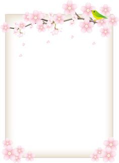 Flower Background Wallpaper, Flower Backgrounds, Colorful Backgrounds, Flower Frame, Flower Art, Fond Design, Cherry Blooms, Mickey Mouse Wallpaper, Cute Notebooks