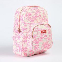 Jouy Pink Fluo Backpack #backtoschool #schoolsatchel #bakkermadewithlove #frenchblossom