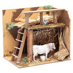 Christmas Manger, Christmas Home, Christmas Crafts, Christmas Decorations, Janmashtami Decoration, Fairy Tree Houses, Miniature Crafts, Miniature Houses, Vitrine Miniature