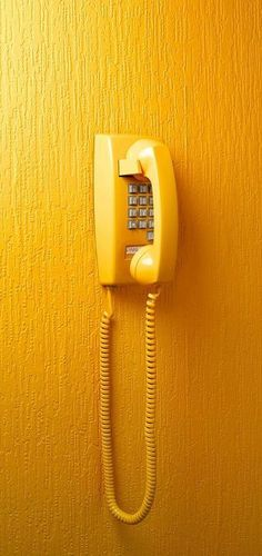 """Yellow Telephone"" ~ Photography by Benedict Morgan"