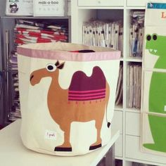 3 Sprouts camel storage bin