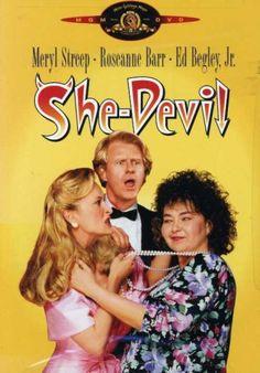 Meryl Streep, Ed Begley Jr., and Roseanne Barr in She-Devil Roseanne Barr, Meryl Streep, Rent Movies, Movies Online, Movies Showing, Movies And Tv Shows, The Story Of Ruth, Louise Wilson, 1 Film