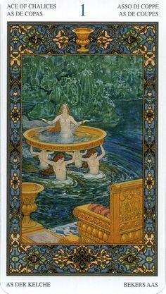 ace of cups: tarot of 1001 nights the Thousand and one Nights 1001 Arabian Nights. Sheherezade.