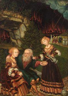 1528 Lot & his Daughters - Wolfgang Krodel