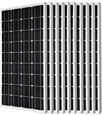 Eco Worthy 1200w Grid Tie Monocrystalline Solar Panel Kit 1200w 24v 110v Review Solar Energy Best Solar Panels Solar Energy Monocrystalline Solar Panels
