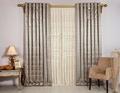 Curtains play a very vital role in the beautification of your room. The market is filled with a wide array of curtain designs. Cream Bedroom Curtains, Luxury Curtains, Cool Curtains, Bedroom Windows, Colorful Curtains, Bedroom Colors, Bedroom Decor, Bedroom 2018, Curtain Designs