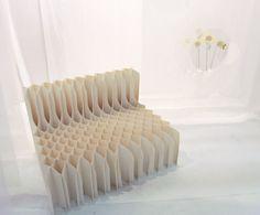 koji sekita: watching you paper chair
