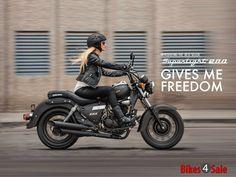 Lady biker enjoying the ride. Virago Bobber, Bobber Bikes, Yamaha Motorcycles, Bobber Motorcycle, Moto Bike, Enfield Motorcycle, Vintage Motorcycles, Girl Riding Motorcycle, Retro Motorcycle