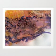 peace Art Print by Deb Haugen - $24.96