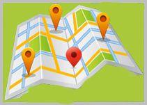 map of avva green guest house