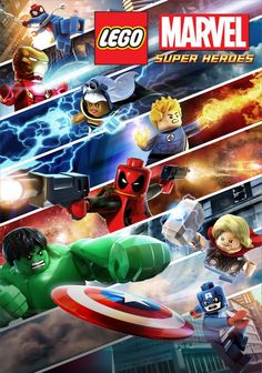 New Lego Marvel Poster