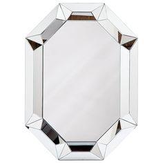 "Regina Andrew Framed Prism Mirror, 36""w x 2""d x 50""h, $697"