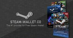 Welcome to Free Steam-Wallet Codes. With only a few simple steps, you will be able to receive $20, $50 or $100 Steam Wallet Code for FREE! Get yours now!