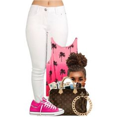 A fashion look from November 2014 featuring Victoria's Secret PINK tops, Converse sneakers and MOOD necklaces. Browse and shop related looks.