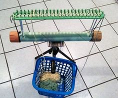 Knifty Knitter Loom Stand for FREE