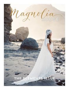 Magnolia Rouge Newest Issue + Beach Bridal Session Tips