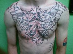 Chest Piece by Jon Piper | Iron Anchor Tattoos