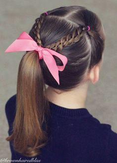 girl hairstyles for school * girl hairstyles . girl hairstyles for school . girl hairstyles for weddings . Easy Toddler Hairstyles, Easy Little Girl Hairstyles, Girls Hairdos, Old Hairstyles, Cute Girls Hairstyles, Braided Hairstyles, Kids Hairstyle, Simple Hairstyles, Hair For Little Girls