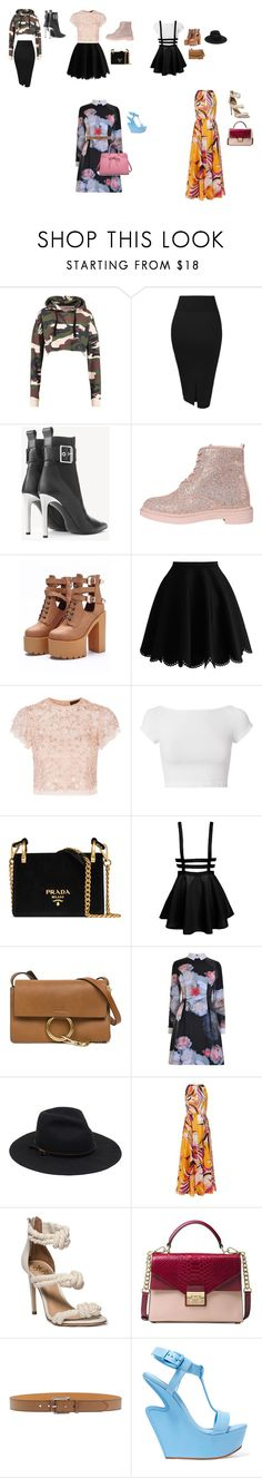 """""""pop- 2.0"""" by stracyolivier on Polyvore featuring rag & bone, WithChic, Needle & Thread, Helmut Lang, Prada, Chloé, Ted Baker, Emilio Pucci, Michael Kors and Etro"""