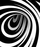 Spirals : Astratto in bianco e nero a spirale