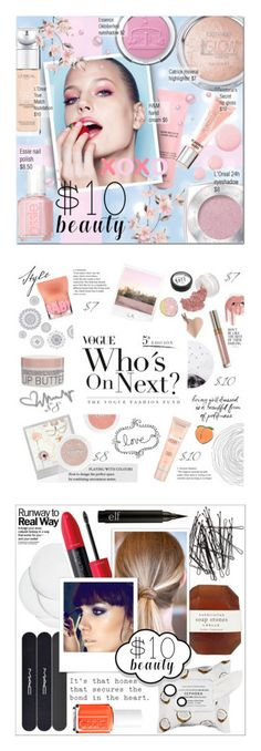 """""""Winners for $10 Beauty"""" by polyvore ❤ liked on Polyvore featuring beauty, Essie, Topshop, Beauty Rush, L'Oréal Paris, Polaroid, Lollipop, Maybelline, PINTRILL and Big Bud Press"""
